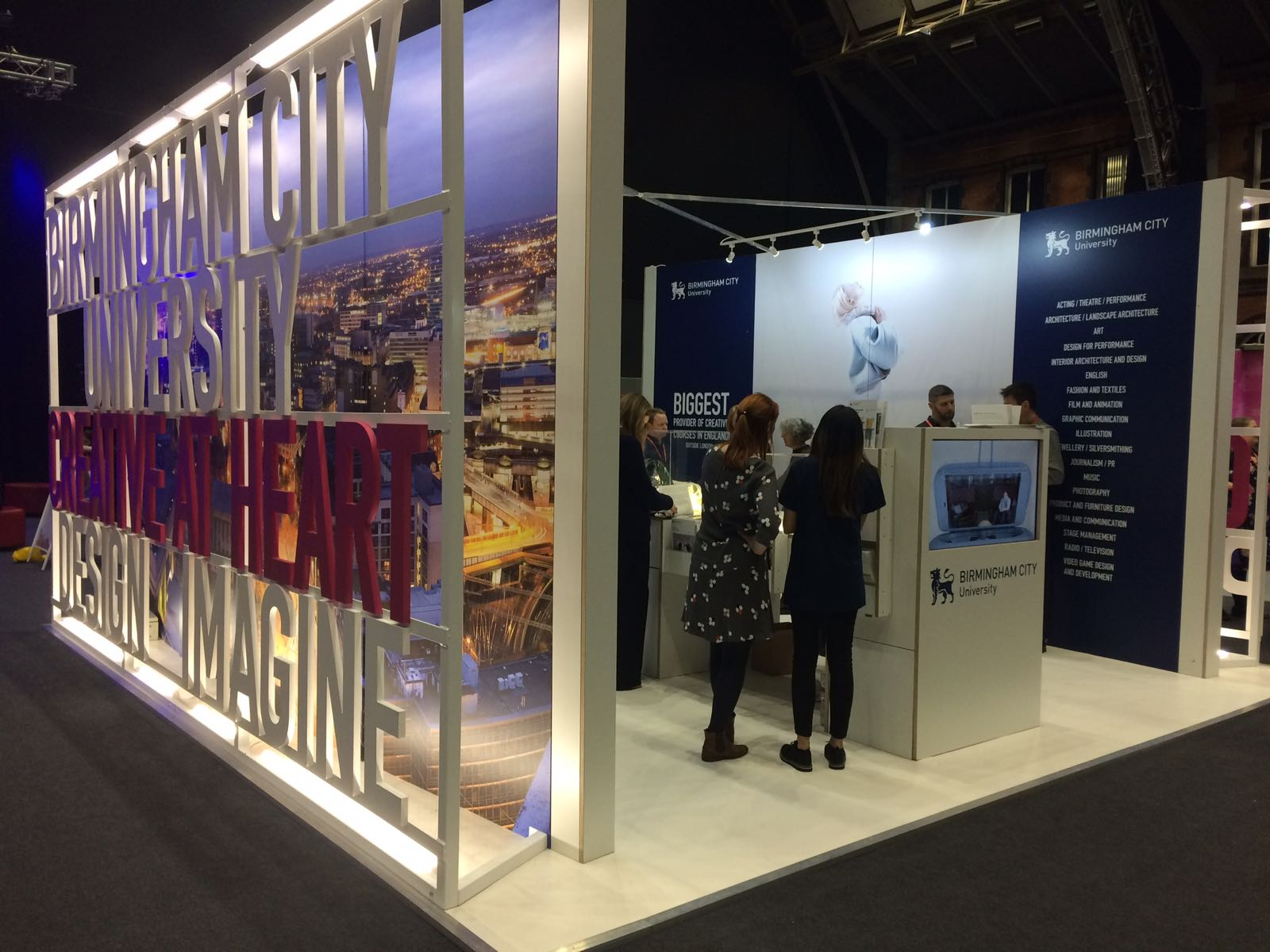 Exhibition Stand Design Birmingham : Plane structure birmingham city university exhibition stand