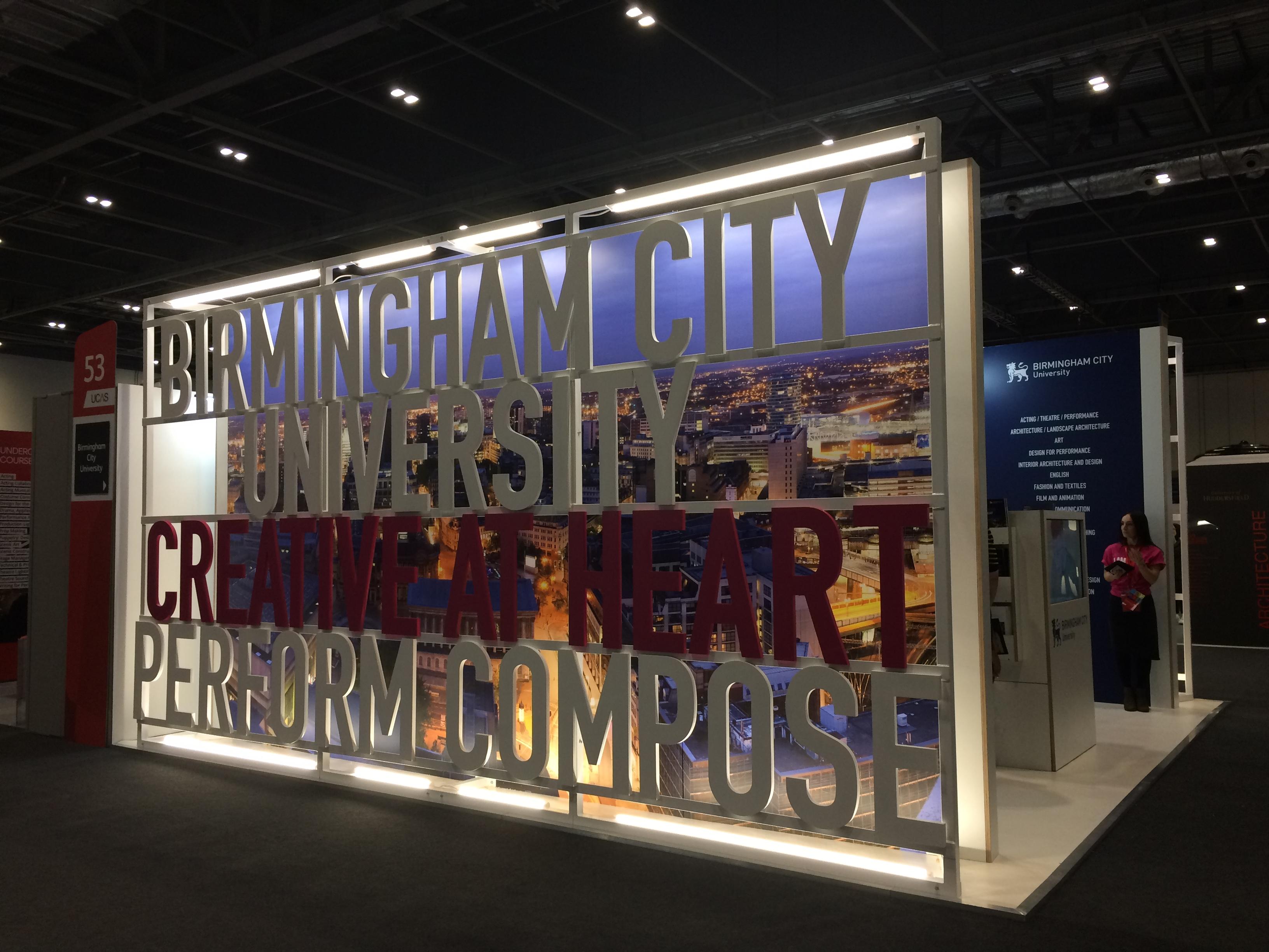 Exhibition Stand University : Plane structure birmingham city university exhibition stand